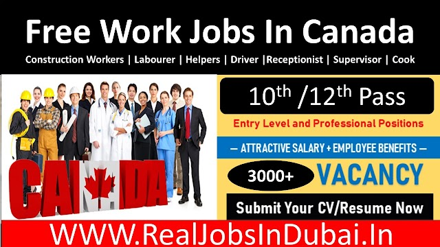 Jobs In Canada Visa | Jobs In Canada With Work Permit |