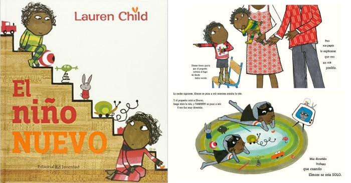 10 cuentos para preparar la llegada de un bebé y tratar primeros celos hermano: libro El niño nuevo