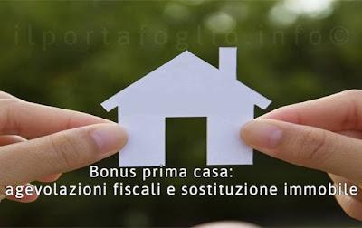 agevolazioni prima casa e sostituzione immobiliare