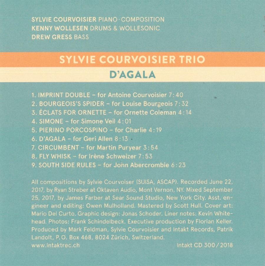 Poison Fruit Ivan Conti: Republic Of Jazz: Sylvie Courvoisier Trio