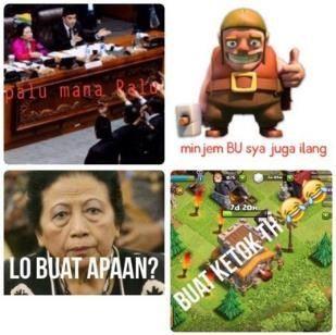 meme lucu clash of clans indonesia