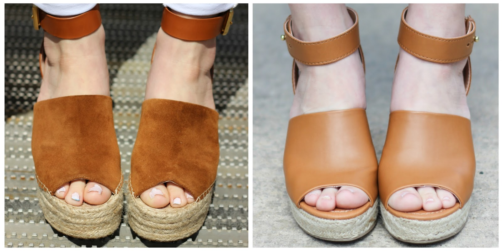3e15f0741f7 The Black Barcode  The Look For Less  Espadrille Wedge + A Review of ...