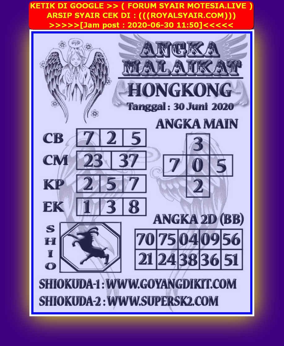 Kode syair Hongkong Selasa 30 Juni 2020 280
