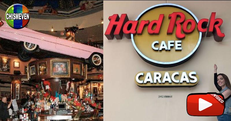 Hard Rock Café se va de Venezuela por los Éxitos de Guaidó