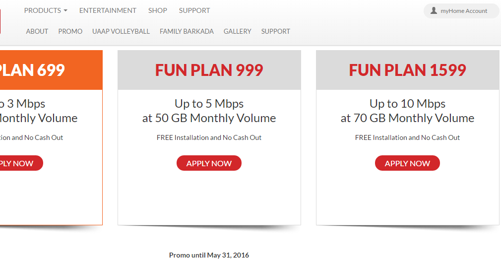 PLDT s Ultera Fun 699 Food Travel and Whatevs