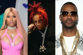 Nicki Minaj and Trippie Redd with Juciy J Condemns Drug