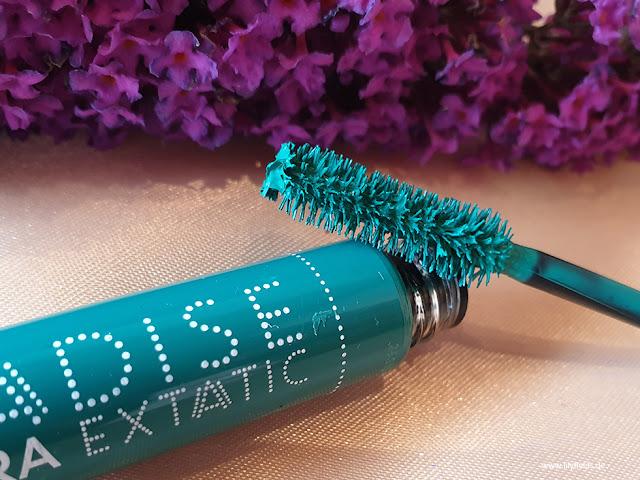 Farbeindrücke der Paradise Mascara Extatic
