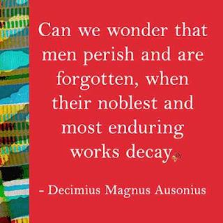 Decimius Magnus Ausonius Quote