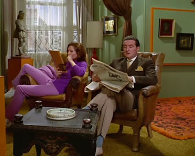 John Steed and Emma Peel from The Avengers