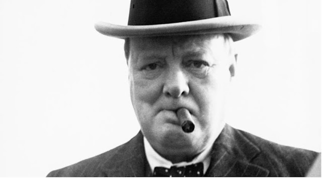 Winston Churchill-  famous celebrities who lived in marrakech city