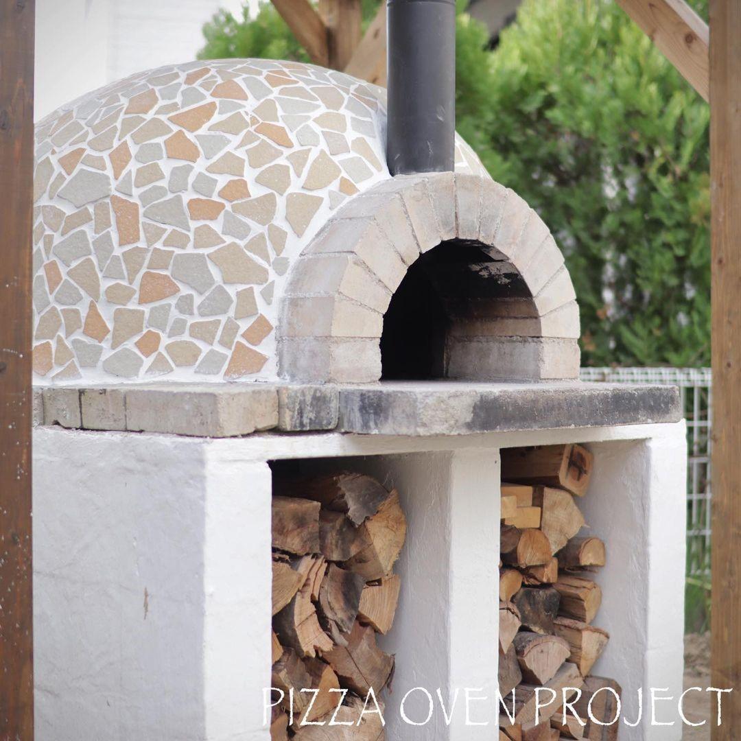 Diy ピザ 窯 ピザ窯をDIY!タイル張りが栄える単層式ドーム窯の作り方