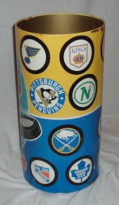 J Chein NHL Wastebasket