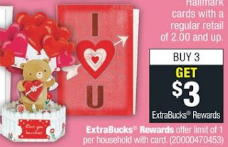FREE Hallmark Greeting Cards at CVS 1-19-1-25
