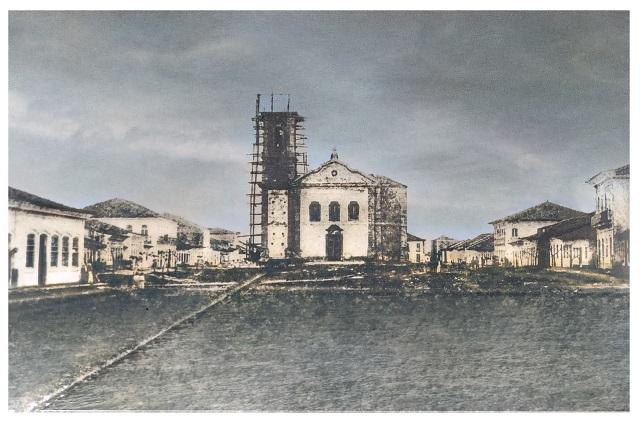 As torres da Basílica de Iguape