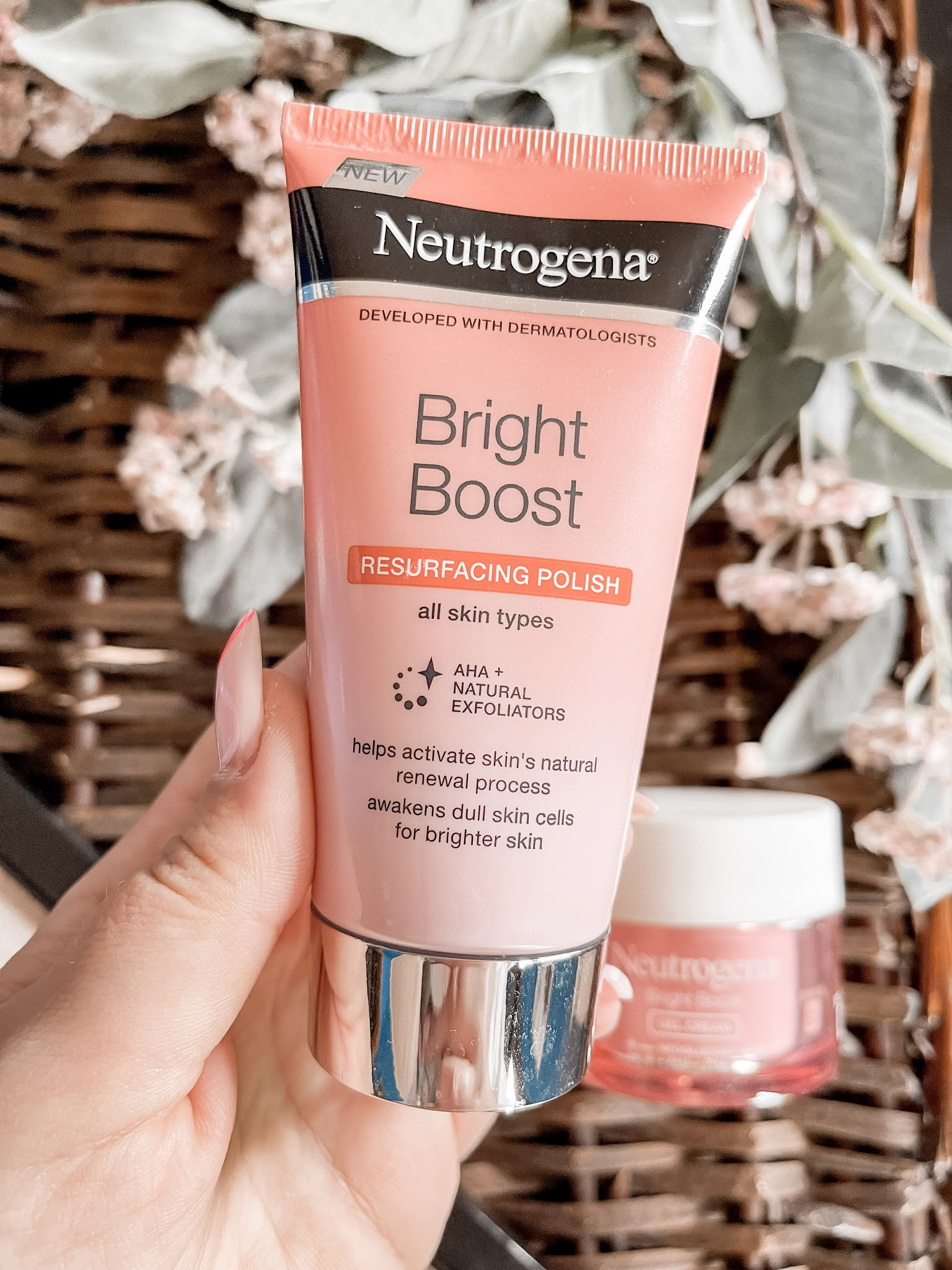 Exfoliante Bright Boost Neutrogena