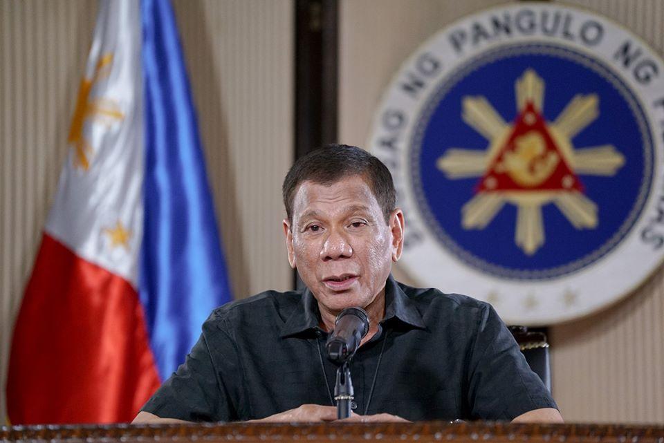 President Rodrigo Duterte to donate his one month salary for COVID-19 cause.