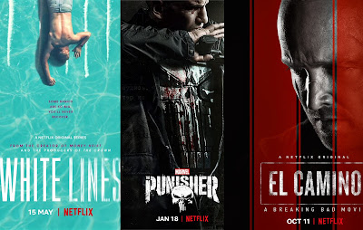 Netflix Dizileri: The Punisher, White Lines ve El Camino: A Breaking Bad Movie