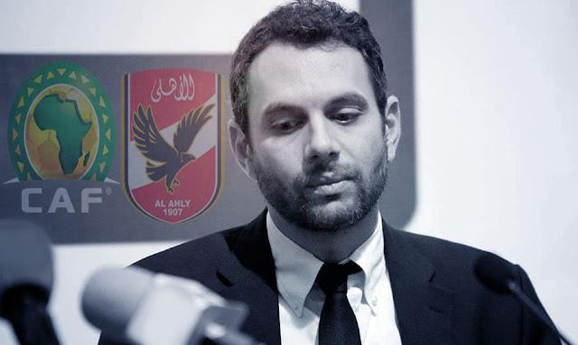 وفاة عمرو فهمي سكرتير الكاف السابق