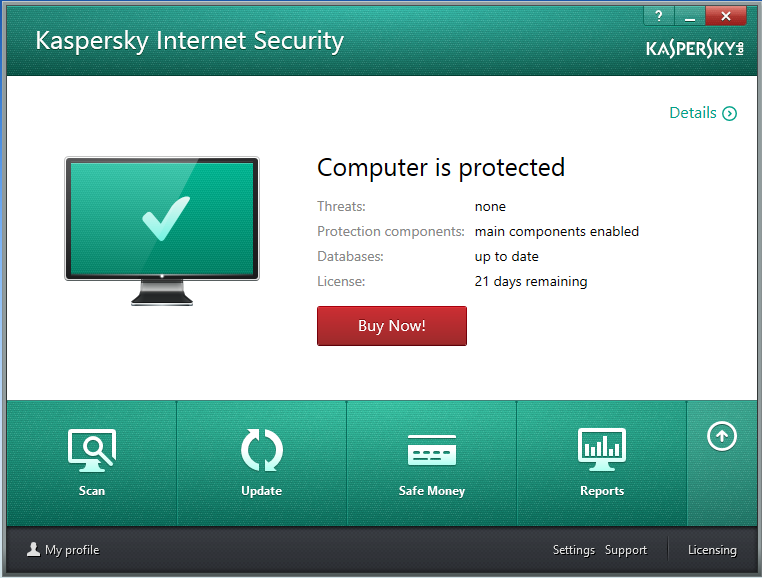 review kaspersky internet security multi device. Black Bedroom Furniture Sets. Home Design Ideas