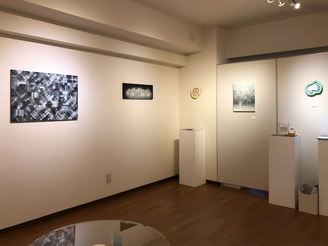 """Exhibition view of Solo Exhibition """"Floating scapes"""""""