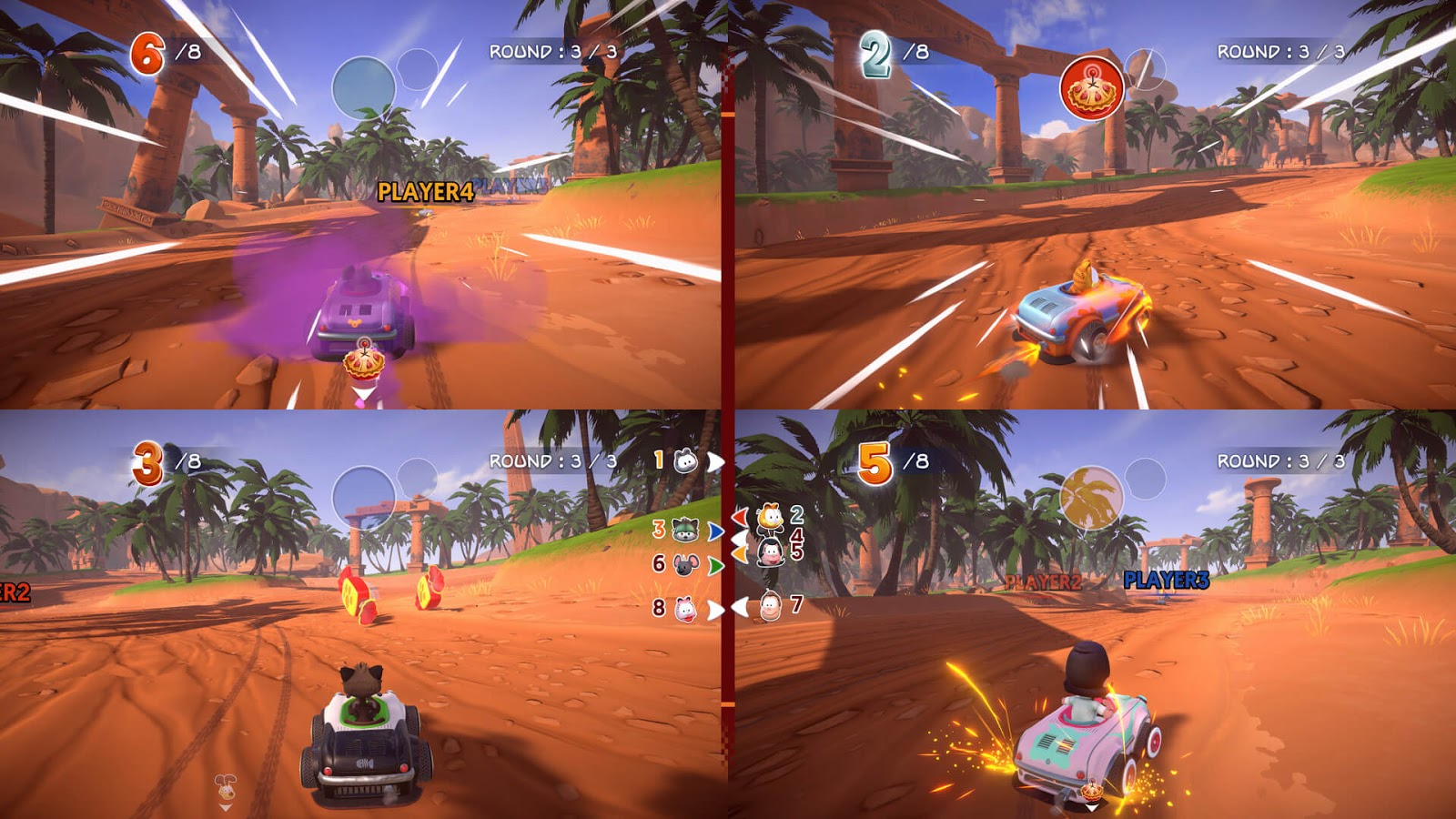 Garfield Kart Furious Racing Full Español