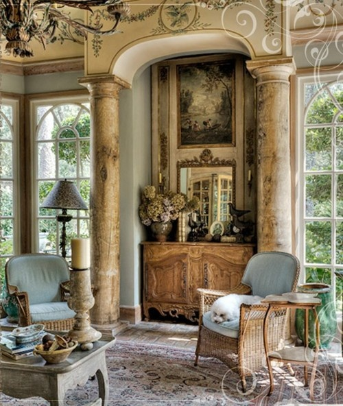 Interior Bring Your Home Cohesive And Sophisticated Look: Eye For Design: Architectural Elements Add Old World Charm