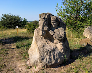 Региональный ландшафтный парк «Клебан-Бык». Скульптуры