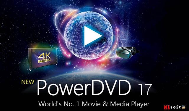 CyberLink PowerDVD Pro 17 Latest Version Free Download