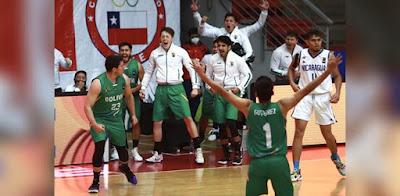 Bolivia festeja su victoria ante Nicaragua (Foto. FIBA)