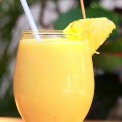coconut pineapple smoothie recipe
