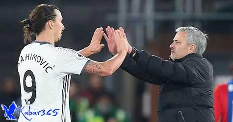 Ibra Sebut Mourinho Masih Pelatih yang Tepat untuk MU