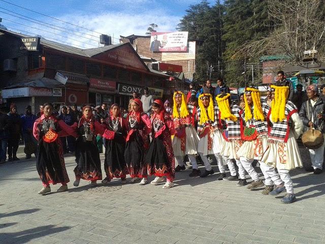Folk dance of Kullu