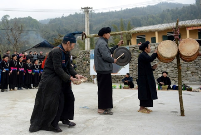 Traditional Khu Cu Te festival of La Chi ethnic group, Ha Giang 5