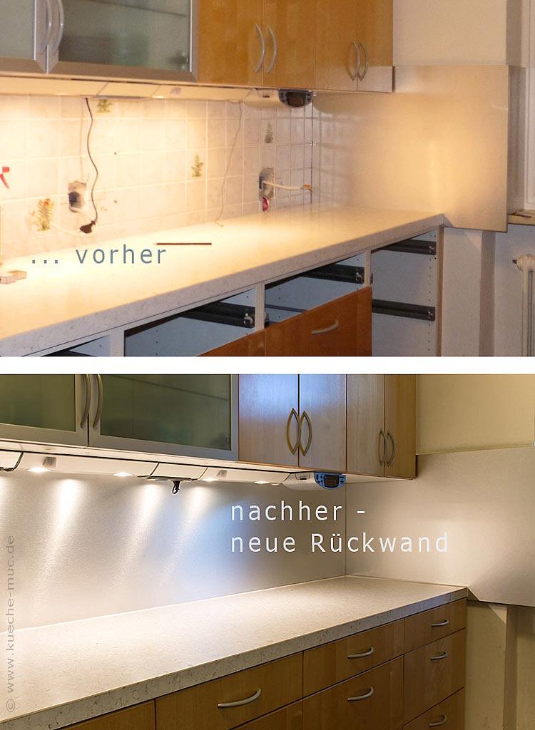 Genug Wir renovieren Ihre Küche : Rueckwand fuer Kueche SF44