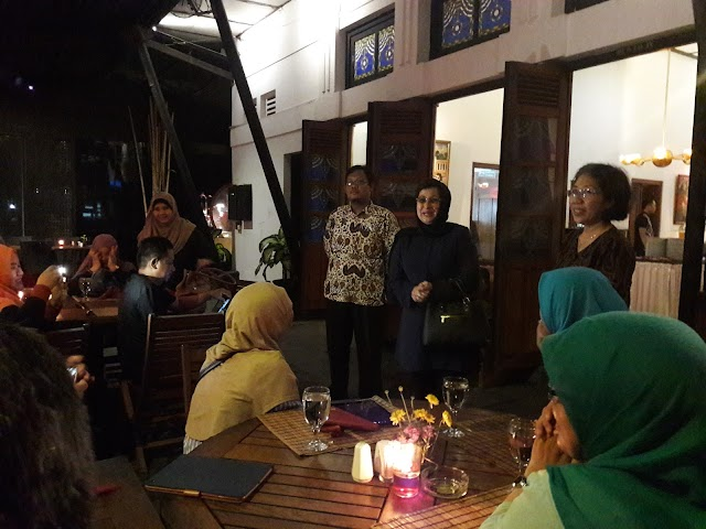 GALA DINNER FPPTI DIY DENGAN PUSTAKAWAN MALAYSIA