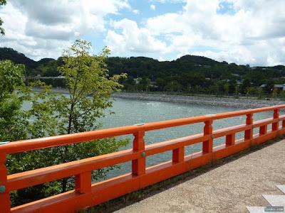 朝霧橋からの宇治川