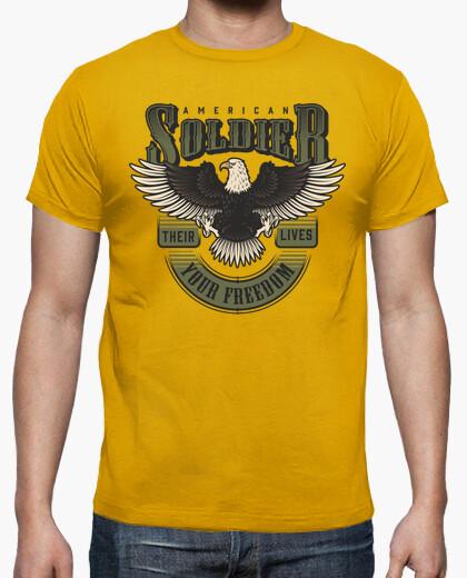 Camisetas, Militar, Militares, Aguila, soldados, soldado