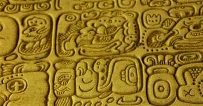 Escritura en los mayas