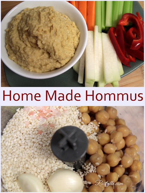 Making your own Hommus is easy with the simple recipe