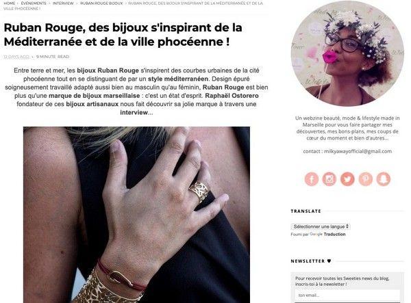 Interview Raphaël Ostorero fondateur Ruban Rouge Bijoux