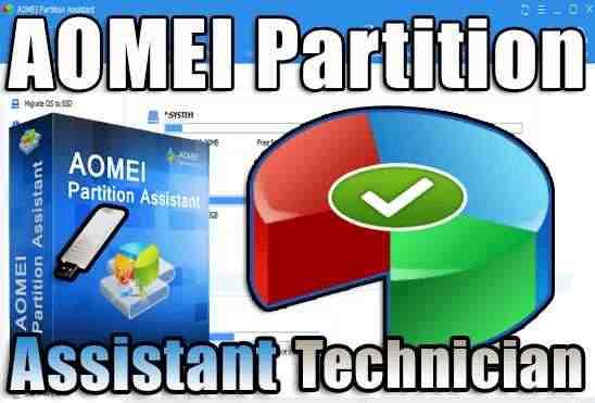 تحميل برنامج AOMEI Partition Assistant v9.0 Portable نسخة محمولة مفعلة اخر اصدار