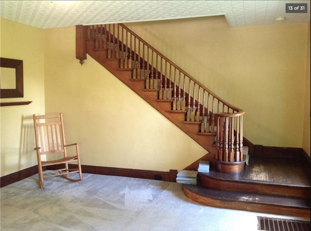 Sears colonial staircase in Sears Sunbeam