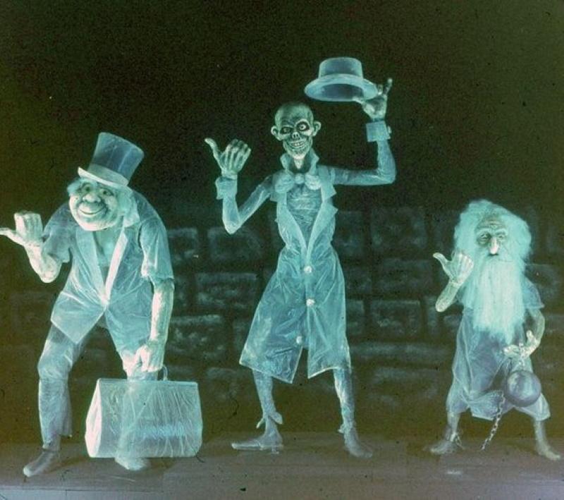 Fantomes du manoir hanté de Disneyland Paris