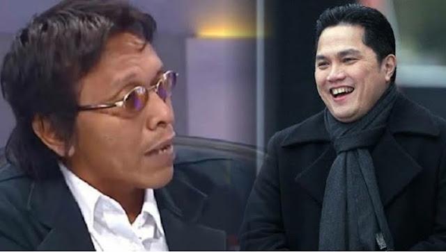 Adian Napitupulu Kritik Erick Thohir, Ujang: Karena Uang BUMN Gurih