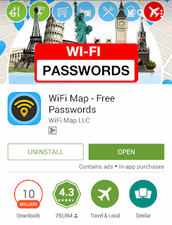 Download Wifi map