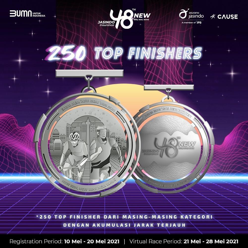 Medali � JASINDO Virtual Run & Ride • 2021