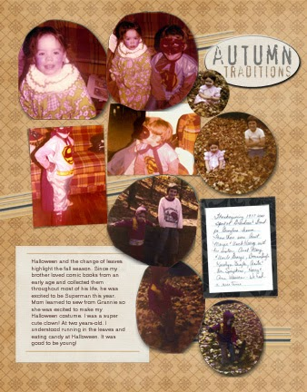 Scrapbooking Badly Cut Photos