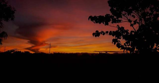 Sunrise at San Jose, Antique, Philippines
