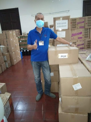 PLDT-Smart Foundation donates over 50,000 face masks and various PPE for frontline health workers
