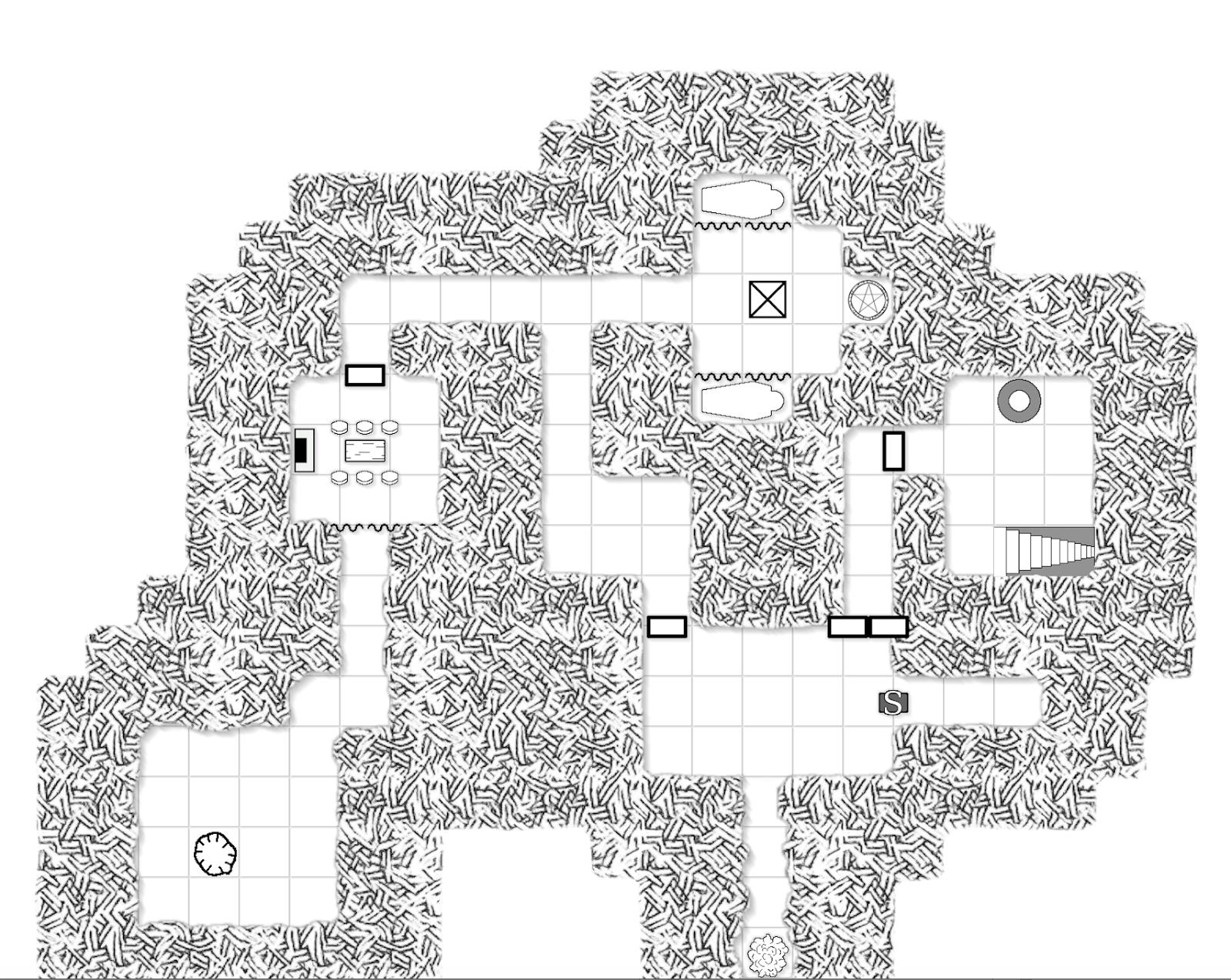 Tenkar S Tavern I Found My Mapping Program Illwinter S Floorplan Generator Win Osx Linux